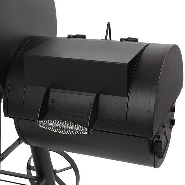 Char griller offset smoker firebox
